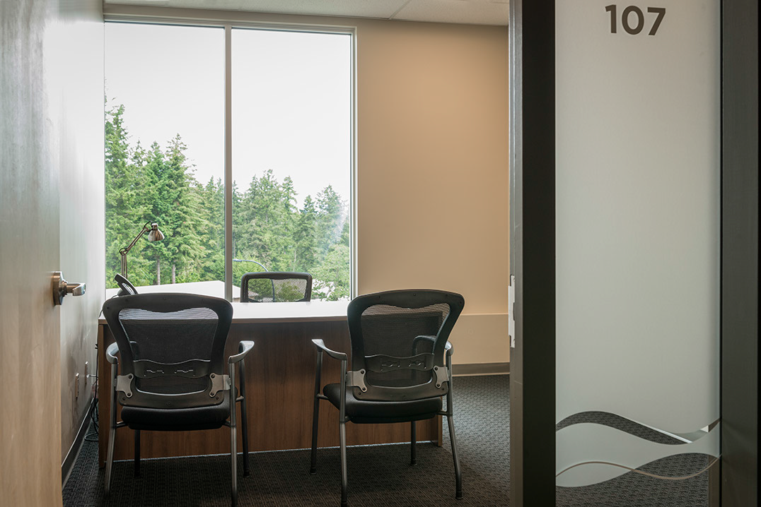 Private office rentals. Perfect for flexible small businesses in the Westshore.